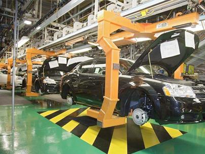 汽车零配件公司智能生产线案例