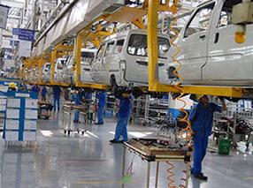 上海某汽车公司精益生产线改善案例
