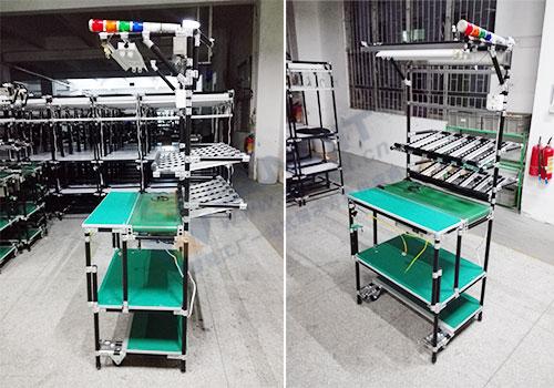 生产车间精益管工作台